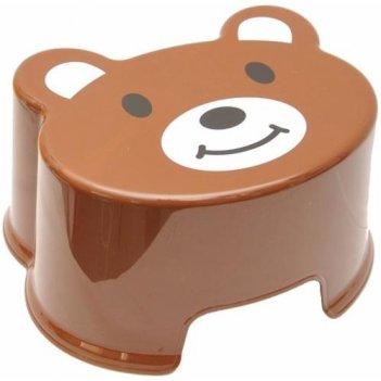 Детский табурет зверята медвежонок 2291