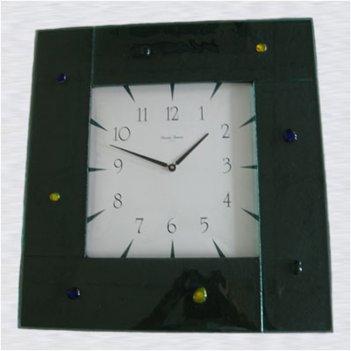 49 часы настенные, муранское стекло 53*53 см