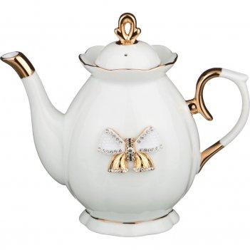 Заварочный чайник с бантиком 900 мл.