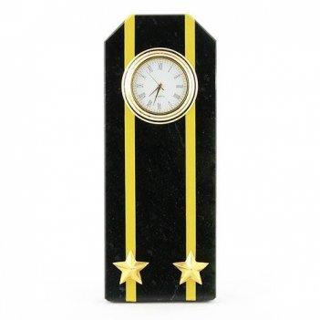 Часы погон подполковник вмф камень змеевик