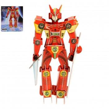 Конструктор 3d супер робот