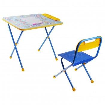 Набор детской мебели дисней 1. микки маус и друзья складной: стол, стул и