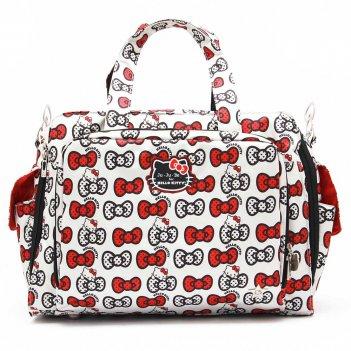 Дорожная сумка или сумка для двойни ju-ju-be be prepared hello kitty peek