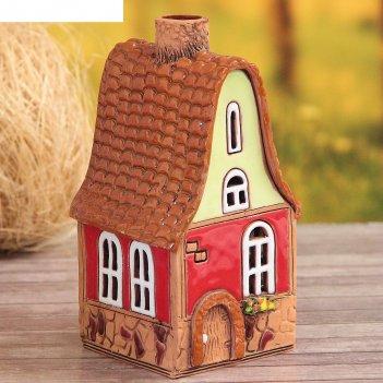 Аромалампа домик «колокольчик», ручная работа, микс