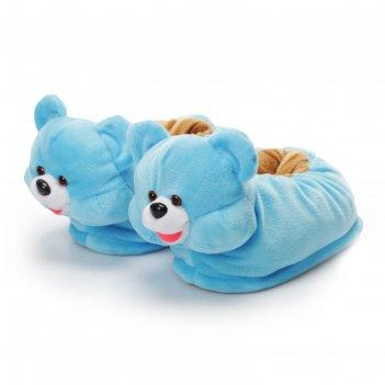 Мягкая игрушка-тапочки «медвежата», р-р 27-32