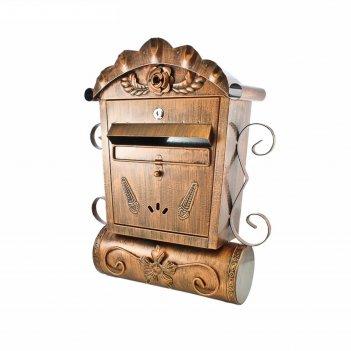 Ящик почтовый №2002, старая медь