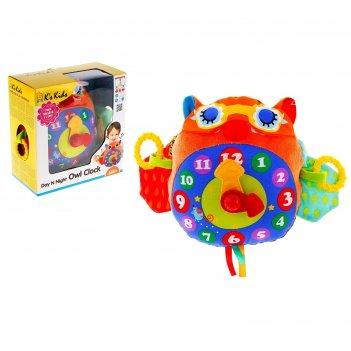 Развивающая игрушка «часы-сова»