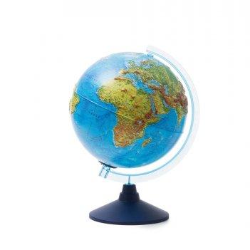 Глобус globen int12500287 интерактивный физико-политический рельефный с по