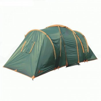 Палатка totem hurone 6 (v2), цвет зеленый