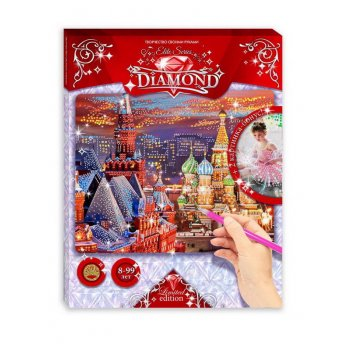 Мозаика elite series diamond красная плщадь + балеринки