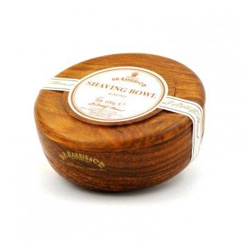 Твердое мыло для бритья в чаше из палисандра d. r. harris, almond, 100 гр