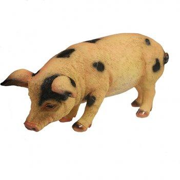 Фигура декоративная свинка фуся l29.5w12h13