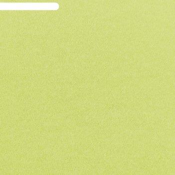 Простыня трикотажная на резинке, 200х200х20, цвет салатовый, 125 гр/м2