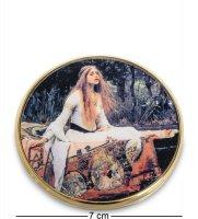 Pr-m18wa зеркальце леди из шалот джон уильям уотерхаус (museum.parastone)