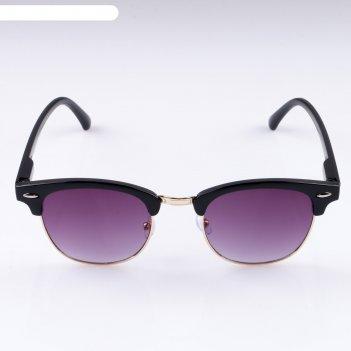 Очки солнцезащитные моногага, uv 400, 14х14.5х4.5 см, линза 4.5х5 см