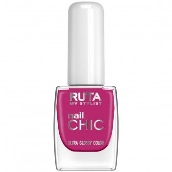 Лак для ногтей ruta nail chic, тон 49, фуксия