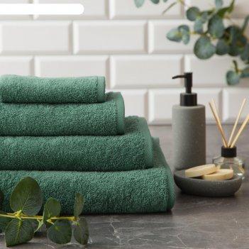 Полотенце махровое этель organic eucalyptus 100х150 см, 100% хл, 420гр/м2