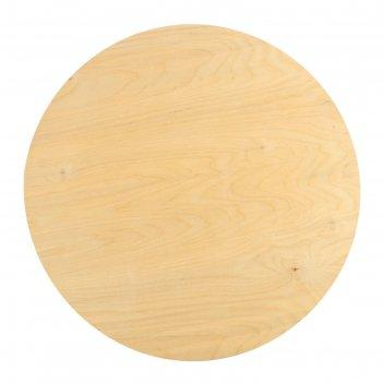 Планшет круглый деревянный фанера 2см d-55 см calligrata