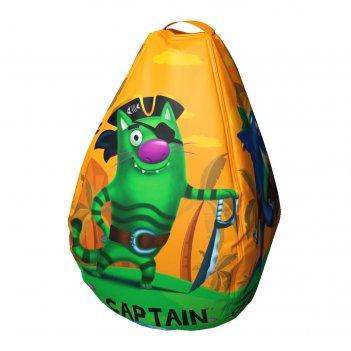 Мешок-рюкзак-подушка, спинка для тюбингов st4, small rider bags пираты (ор