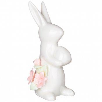 Статуэтка весенний кролик 6*4*11 см. (кор=72шт.)
