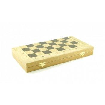 Складной кейс для шахматных фигур woodgame дуб 45мм, 45х45см