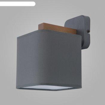 Бра tora gray, 60вт e27, цвет серый