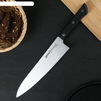 Нож кухонный 20,8 см samura harakiri. шеф