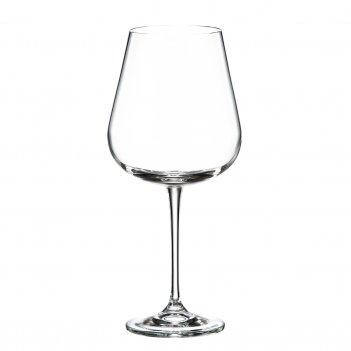 Набор бокалов для вина crystalite bohemia ardea/amundsen 670 мл(6 шт)