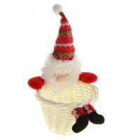 Карнавальный аксессуар конфетница дед мороз
