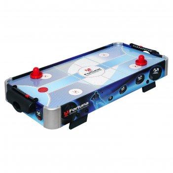 Аэрохоккей fortuna hr-31 blue ice hybrid настольный 86х43х15см