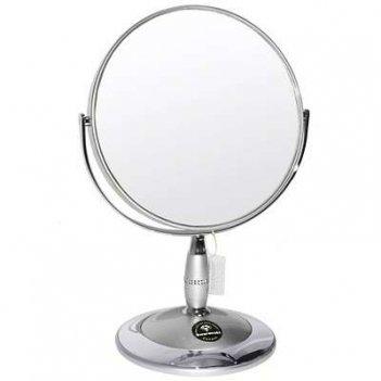 Зеркало b7 808 s3/c silver наст. кругл. 2-стор. 5-кр.ув.18 с
