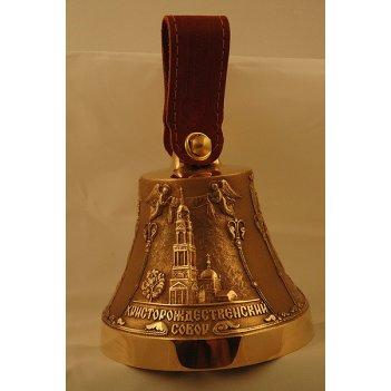 Бронзовый колокольчик с символикой липецка