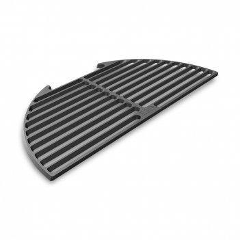 Решетка полукруглая для гриля l, материал: чугун, цвет: черный, 120786, bi