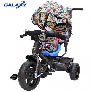 3-х колесный велосипед galaxy лучик vivat звезды