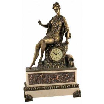 Скульптурные часы восток французская бронза br-t203b