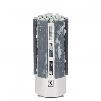 Электрическая печь karina forta 8, нержавеющая сталь, камень талькохлорит