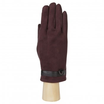 Перчатки мужские, искусственная замша, цвет коричневый коричневый