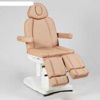 Педикюрное кресло, sd-3708as, 3 мотора, цвет светло-коричневый