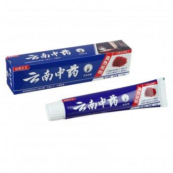 Зубная паста китайская традиционная на травах с шеффлером противовоспалите