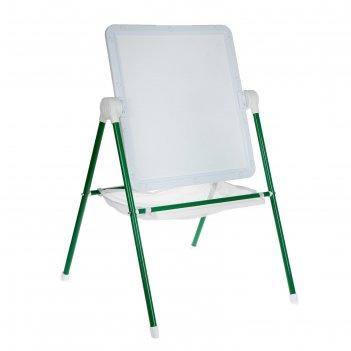 Мольберт детский универсальный мду.08 бело-зеленый
