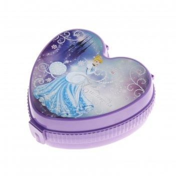 Шкатулка детская золушка, фиолетовая
