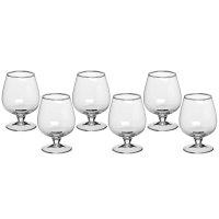 Набор бокалов для коньяка 180 мл, 6 шт