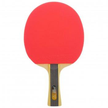 Ракетка для настольного тенниса dhs t1002, 1* звезда, для начинающих игрок
