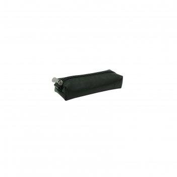 Ключница 14x3x5 см, цвет чёрный