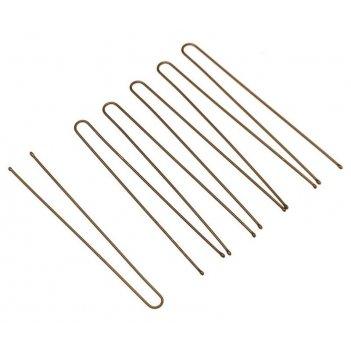 Шпильки slt70p-3/200  коричневые, прямые 70 мм, 200 гр, в коробке