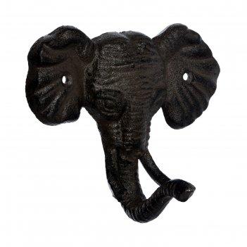 Крючок «слон», 12,5 x 11 x 8 см, чугун