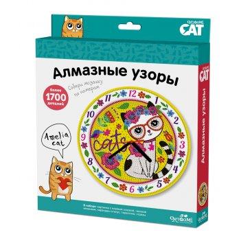 Набор origami 03218 алмазные узоры. часы amelia cat