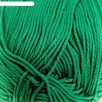 Пряжа классический хлопок (335, изумруд), 250 м