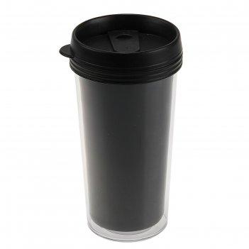 Термо-стакан под полиграфическую вставку 450мл