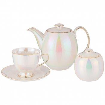 Чайный сервиз на 6 персон 14 пр. lefard pearl 190 мл